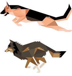 Rob Bailey #vector #dogs #rob bailey