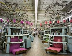 Textiles by Christopher Payne #inspiration #photography #industrial
