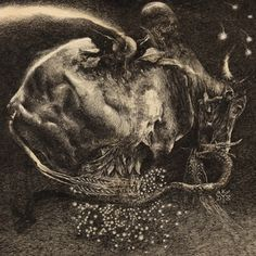 Half Blood   Horseback #blood #album #forkas #kostromitin #illustration #art #horseback #half #denis