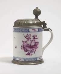 TANKARD, Meissen, 2. Third 18. Century #porcelain
