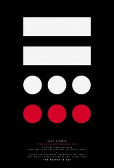 Creative Review - Posters for Tinker Tailor Soldier Spy by Paul Smith #spy #tinker #tailer #soldier