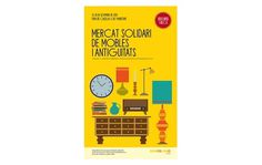 Mercat Solidari… | Ohhh.ws #vector #padilla #yellow #ohhh #illustration #furniture