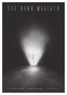 The Dead Weather - Rodrigo Maia #fog #rodrigo #illustration #poster #maia #light