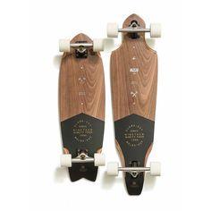 Tumblr #white #board #long #black #simple #wood #clean #skateboard