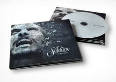 Solitude - The Revival on the Behance Network #album #packaging #photo #cover #manipulation #treatment #music #type #dark