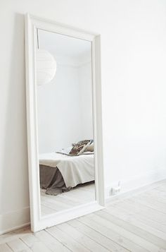 The Design Chaser: Interior Styling | Oversized Mirrors #interior design #mirror