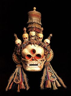 TibetanCitipati Mask #skull