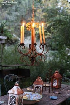 table setting #candles #table