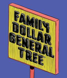 Family Dollar General Tree by Kelsey Dake