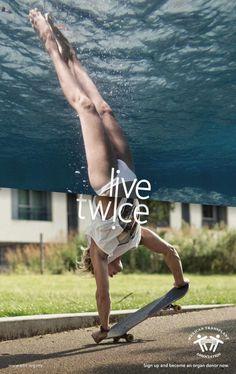 Mexican Transplant Association: Live twice #inspiration #advertisement