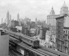 Never-before-seen photos from 100 years ago tell vivid story of gritty New York City | Mail Online #york #new