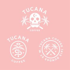 logo, skull, coffee
