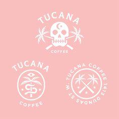 logo, skull, coffee