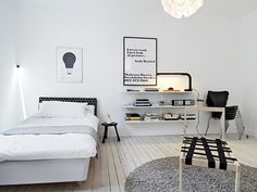 convoy #interior #white #black #architecture #vintage #modernist