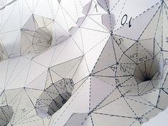 Google Reader (225) #design #paper #geometric