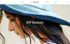 I and me webdesign website beautiful sotd mindsparkle mag ceramics off season fashion beauty minimal site of the day inspiration inspire gra