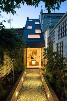 Slim House in London by alma-nac 13