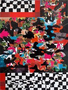 Bjorn Copeland > Artwork: Scramble #collage #copeland #bjorn