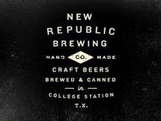 Dribbb #logo #brew