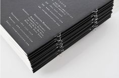 Graphic-ExchanGE - a selection of graphic projects #print #stitch #black