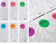 ps.2 arquitetura + design - SESC Programme 2010 - Monthly Brochure #illustration #color #folder #brazil #grapich design #sesc