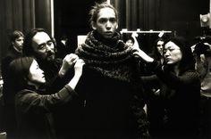 1 | Yohji Yamamoto Marks 40 Years In The Roiling Fashion Business | Co.Design: business + innovation + design #sartorial #model #yohji #fashion #yamamoto