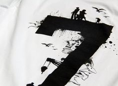 KAFT Design - RAKAMI7Tişört #typography #seven #number