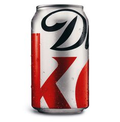 Creative Review - Diet Coke makes cropped logo packaging permanent #packaging #cola