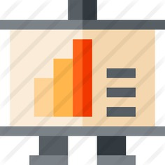 See more icon inspiration related to business and finance, presentation, financial, statistics, chart, bars and graphic on Flaticon.