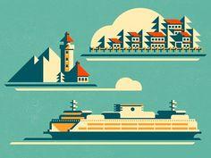 Ferry lo #illustration