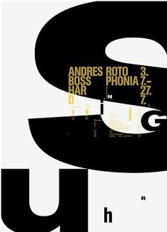 FFFFOUND! #letters #design #graphic #poster #typography