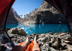 Morning Views From The Tent #photos #travel