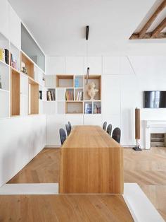 Parisian Apartment Refurbishment / JCPCDR Architecture