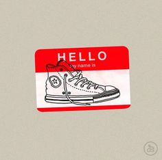 tumblr_lis0k3X56B1qz6f9yo1_500.png (499×496) #design #my #converse #is #name #hello