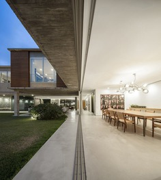 dining room, interior design, São Paulo house, Isay Weinfeld