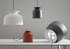 Bell-shaped Pendant Lamp