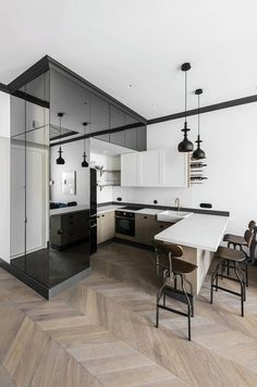 Vilnius Old Town Apartment with a Mix of Modern, Vintage and Industrial Style 3