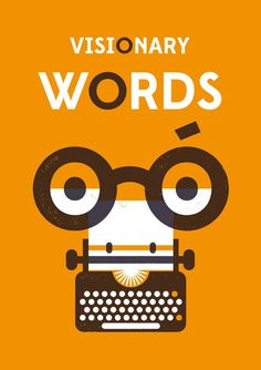 Visionary Words - Aron Vellekoop León #illustration