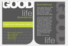 Goodlife – Graphic Design | UK Logo Design #design #graphic