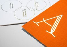 Studio Lin — High-res Special | September Industry #orange #lin #studio #type #core77 #foil