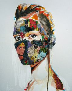 La Cage ... F C H i C H K 'L #sandra #chevrier #art #mixed #media