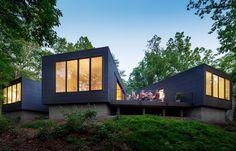 James River House – a Modern Family Weekend Retreat