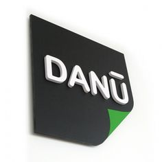 DANU by Associate #logo #identity #stationery #signage #type