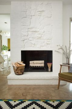 Before & After: Gorgeous Fireplace Makeovers | Design*Sponge