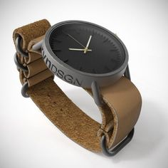 rvndsgn 3d printed titanium watch #inspiration #creative #simplicity #design #photography #industrial #minimal #watch #fashion #beautiful #style