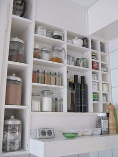 Use Every Inch: Getting Creative with Kitchen Storage | Apartment Therapy DC #kitchen #home