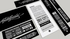Ajándék Terminal Christmas identity / 2011 on the Behance Network #identity #typography