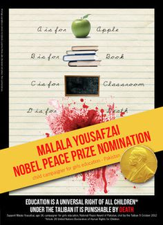 Your favorite pictures on VisualizeUs #noble #malala #education #prize #yousafzai #peace #abc