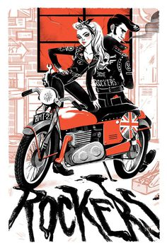 Rockers by babsdraws on deviantART #rockers