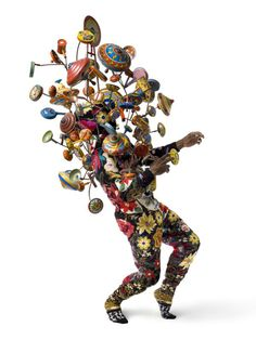 Nick Cave's (not THAT one!) soundsuits and installations
